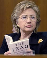 Clinton learns about Iraq