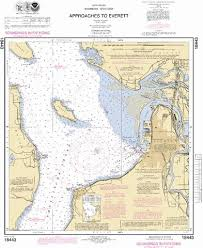 Approaches To Everett Marine Chart Us18443_p1690