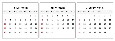 month template 2018 printable june july august 2018 calendar 3 month template download