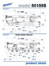 Manitex 50155s Specifications Cranemarket