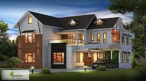 Sloping Roof Design Ideas Modern Sloped Roof 4 Bedroom Architecture Kerala House