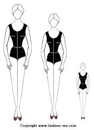 Costume Drawing Template Free Blank Fashion Templates Paper Doll Template Below Front And