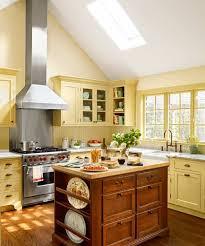 Yellow And White Kitchen Decor