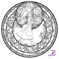 Disney Mandala Coloring Pages At Getcoloringscom Free Printable