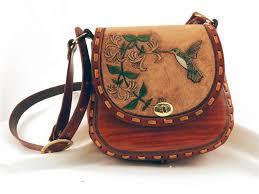 tooled leather handbag kits