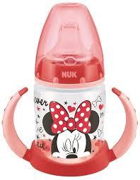 <b>НУК Дисней</b> Микки <b>Бутылочка</b>-<b>поильник</b> 150 мл. красная ...