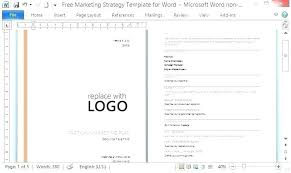 simple one page business plan template one page strategy template