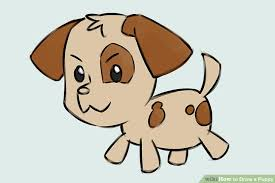 Small Picture 4 Ways to Draw a Puppy wikiHow
