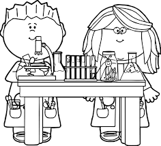 Small Picture Chemistry Coloring Pages glumme