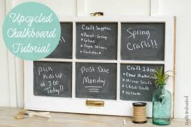 upcycled chalkboard diy consumer crafts unleashed 2
