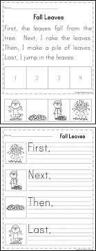 Cut and Paste Sequencing Worksheets for First Grade | Homeshealth.info