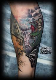 татуировка георгий победоносец и богатырь значение фото тату