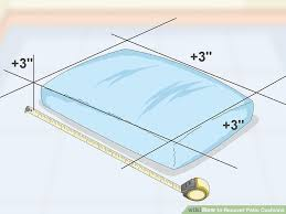 3 Ways to Recover Patio Cushions wikiHow