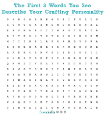 crafty word search 8 crafts we re obsessed beautiful the first 3 words you see describe your crafting personality ready go