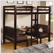 great double loft bed with desk underneath home design ideas with bunk bed with desk underneath