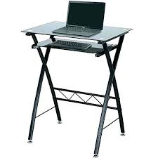 black glass computer desk with hutch office depot ikea bla