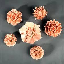 y5874916 incredible ceramic flower wall decor ceramic wall decor ceramic wall flower decor ceramic wall decor flower creative ceramic flower wall blue