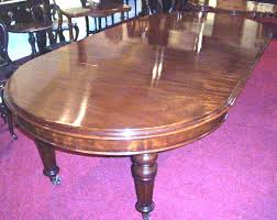 superb victorian mahogany 53ins circular dining table extending to 114ins with 3 extra leaves
