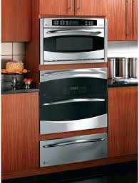 wall oven 26 inch profile lifestyle view 26 inch convection double wall oven