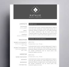 all templates kukook the natalie hanson resume