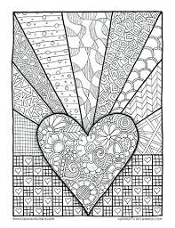 Adult Valentine Coloring Pages Free Valentines Day For Adults Home