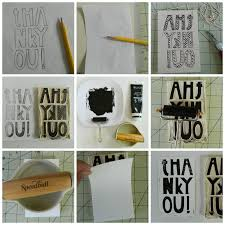 S O T A K Handmade Block Printed Note Cards A Quick How To
