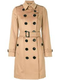 burberry sandringham fit cashmere trench coat camel