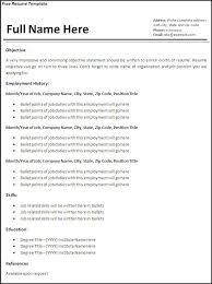 Professional Resume Templates 2012 Free Resume Templates 2018
