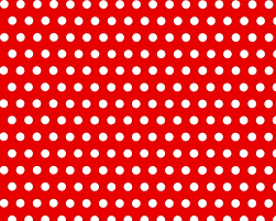 red and white polka dot background.  Background Pattern Polka Dots Red Background To And White Dot D