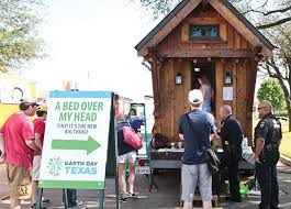 where to park tiny house. Tiny House Village At The 2016 Earth Day Texas \u2013 April 22-24. | All Things Where To Park