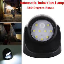 Automatic Outside Lights Us 5 34 6 Off Led Sensor Light Automation Induction Ceiling Lamp 360 Rotation Smd Led Motion Sensor Night Light Lamp For Stairs Outside Home In Led