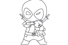 Deadpool Coloring Pages Printable Hand Drawing 431 Get Coloring Page