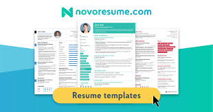 2019 Free Resume Templates You Can Download Quickly Novorésumé