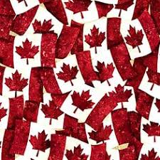 Oh Canada ll by Northcott by the yard | Canadian 150 Fabrics ... & Nice for Canada portion of the Reunion quilt! Oh Canada III from Calgary- Along Adamdwight.com