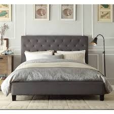 grey bed frame full. Brilliant Bed Bed Frame In Grey H M S Remaining On Grey Full