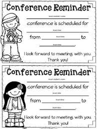 Parent Teacher Conference Forms By Jodi Southard Tpt