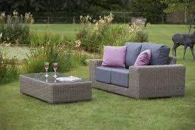 bridgman kingston 2 seater rattan sofa and coffee table
