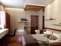 Bedroom Cream Blue Wooden Storage Bed Frame Fitted Lighting Ideas Ceiling  White Metal Round Chair Corner