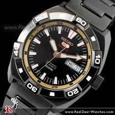 buy seiko 5 automatic gold black mens sports watch srp287k1 srp287 seiko 5 automatic gold black mens sports watch srp287k1 srp287