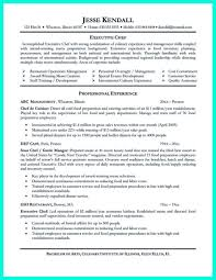 Awesome Culinary Student Resume Contemporary Simple Resume