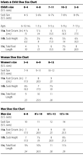 Shoe Size Compared To Height Chart Foot Size Chart The Following Measurements Are For Crew