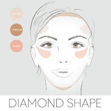 how to contour for your face shape contouring a diamond face