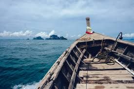 Image result for boat in the sea