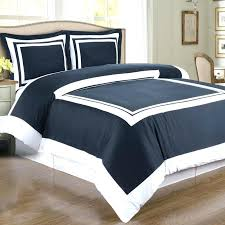 navy duvet cover twin xl white