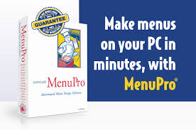 restaurant menu maker free imenupro now available from softcafe