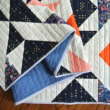 Nordic Triangles Quilt Pattern (Download) - Suzy Quilts & Modern Quilt for Sale Adamdwight.com