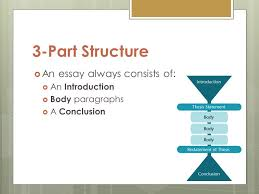 writing introductions and conclusions  objectives  understand        structure  an essay always consists of   an introduction  body