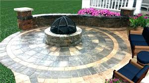 round paver patio circular patio kit special fire kit enchanted gardens landscaping circle patio kits circular round paver