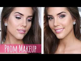 easy natural prom makeup tutorial all s