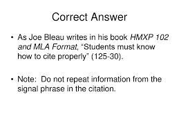 Mla Format Slide Show Hmxp 102 Dr Fike Ppt Download